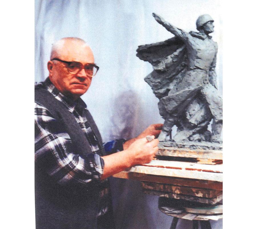 На гатчинской земле живет память об уроженце города Кимры скульпторе Юрии Кузнецове