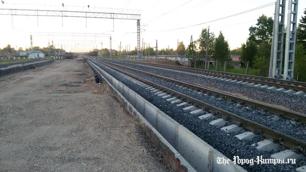 На железнодорожной станции Савелово в Кимрах продолжается реконструкция   Фото