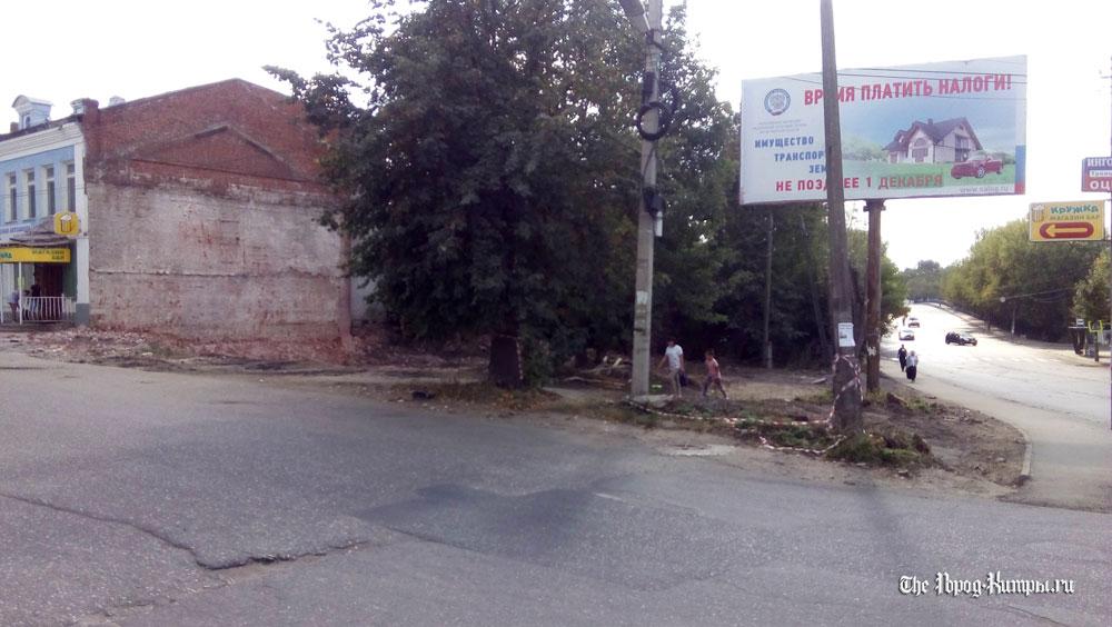 На месте снесенных и сгоревших домов в Кимрах создадут скверы и детские площадки