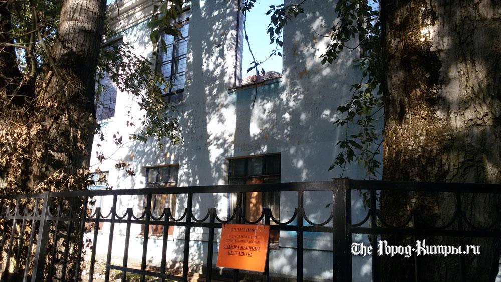 Накануне 1 сентября в кимрской школе не завершён ремонт спортзала
