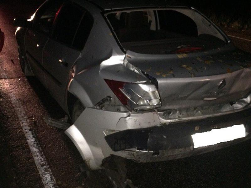 На 6 км автодороги Дубна-Кимры-Горицы в ДТП пострадали два автомобиля и пешеход
