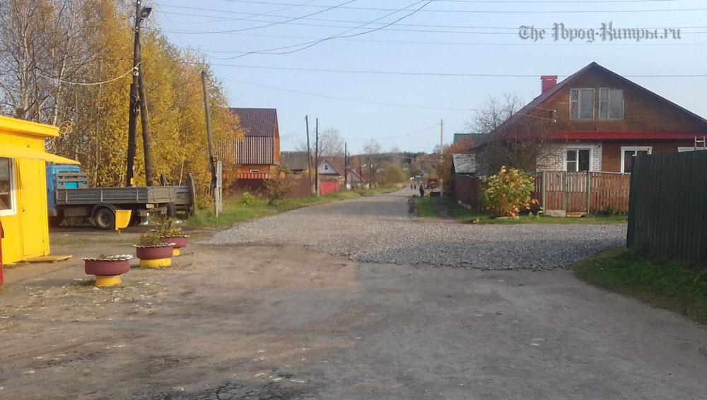 В Кимрах отремонтирована дорога. Жителям микрорайона подсыпали проблем