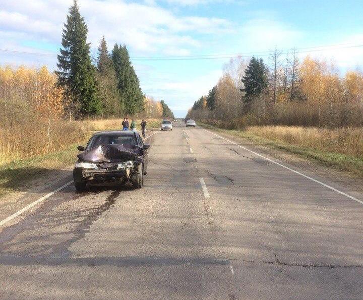 22 октября на 12 км а/д Дубна-Кимры-Горицы произошло ДТП с пострадавшими