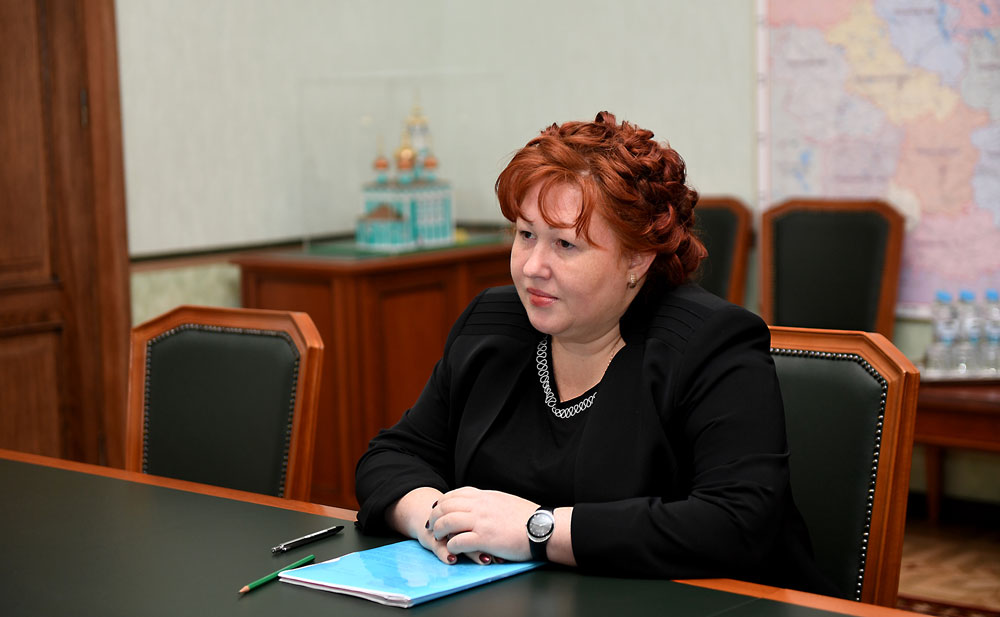 Новым Главой Кимрского района избрана Ирина Миронова