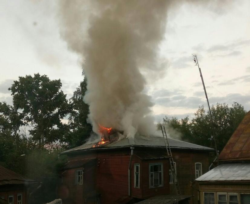 В Кимрах поджигают старинные дома один за другим - краеведы бьют тревогу
