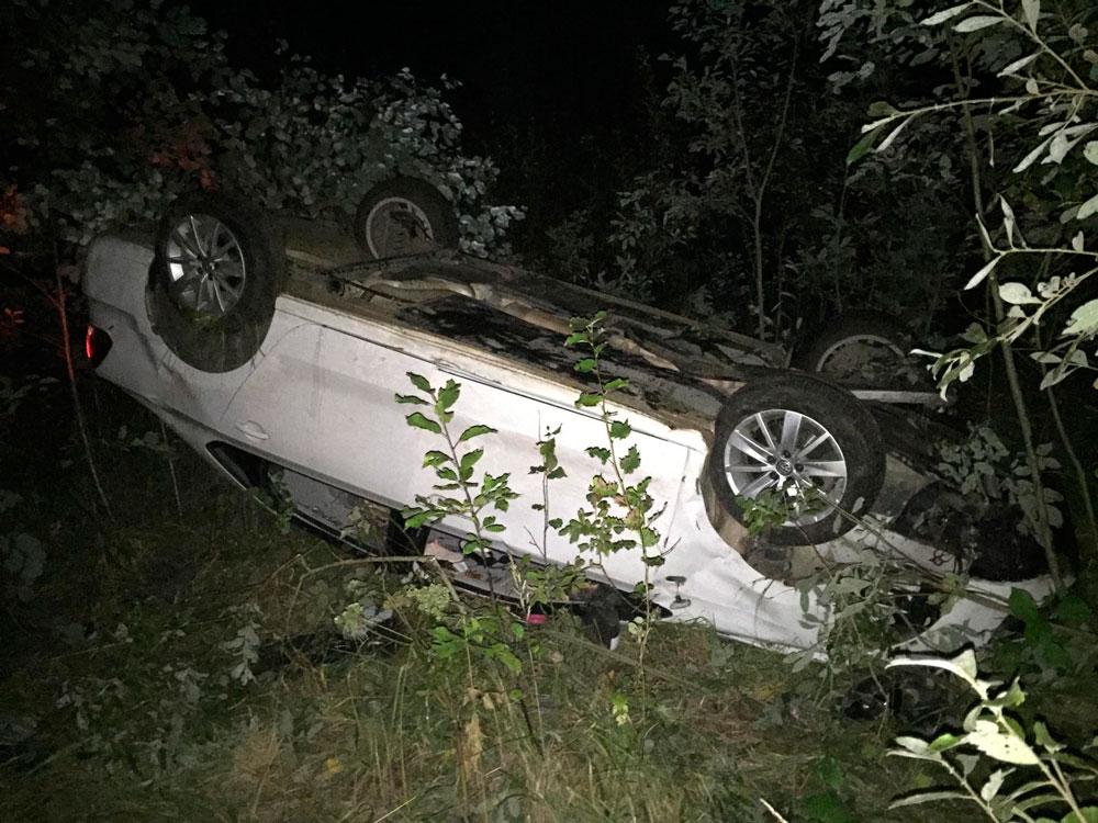 На 2 км автодороги Кимры-Клетино-Дубна произошло ДТП, пострадали 2 человека
